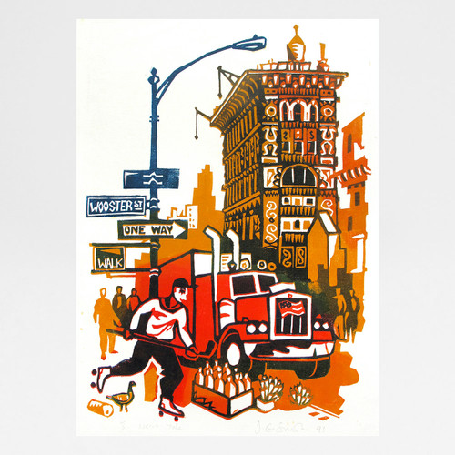 New York print by Jane Smith at Of Cabbages and Kings