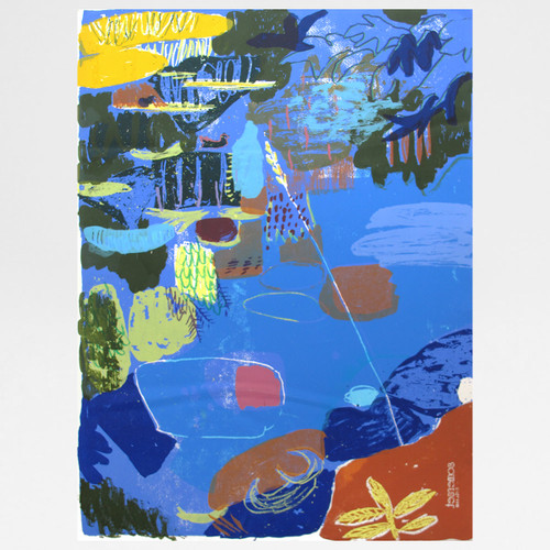 Old Ford Screen Print by Judith Symons at Of Cabbages and Kings