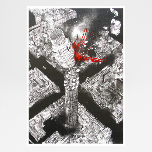 BT Tower art print by Sam Bridge at Of Cabbages and Kings