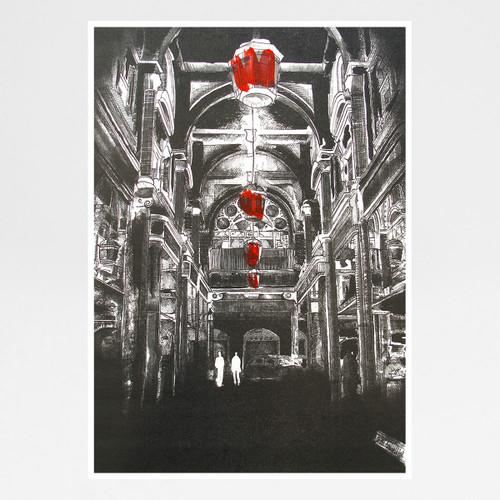 Royal Arcade art print by Sam Bridge at Of Cabbages and Kings