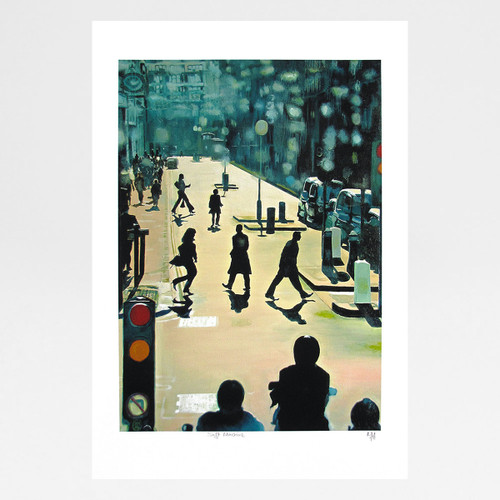 Soft Machine giclée print by Martin Mossop at Of Cabbages and Kings