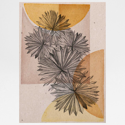 Palmburst Art Print by Angela Britton at Of Cabbages and Kings