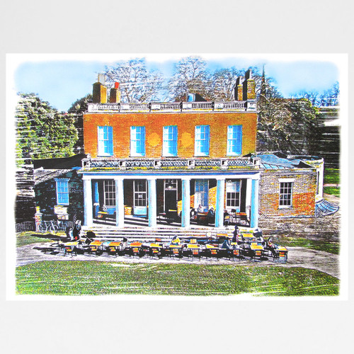 Clissold House Print by Seán Myers at Of Cabbages and Kings