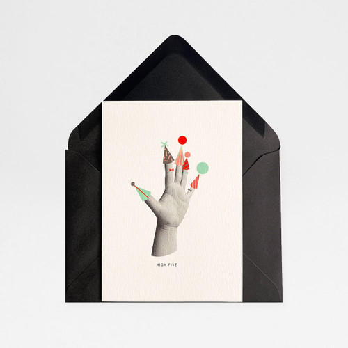 High Five Card by Atelier Chop at Of Cabbages and Kings