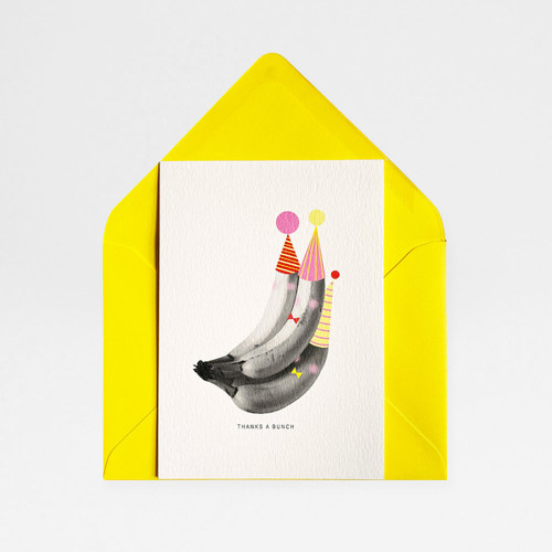 Thanks a Bunch Card by Atelier Chop at Of Cabbages and Kings