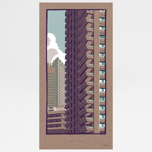 Barbican II art print by Liam Devereaux at Of Cabbages and Kings
