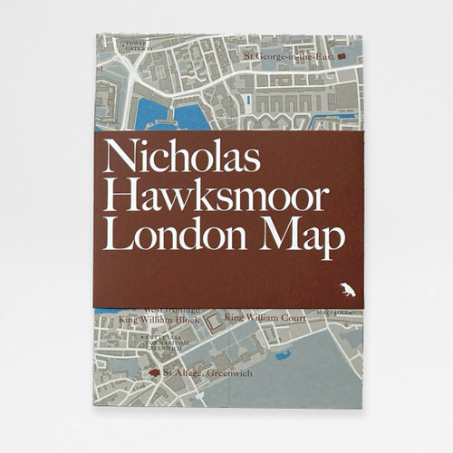Nicholas Hawksmoor London Map by Blue Crow Media at Of Cabbages and Kings.