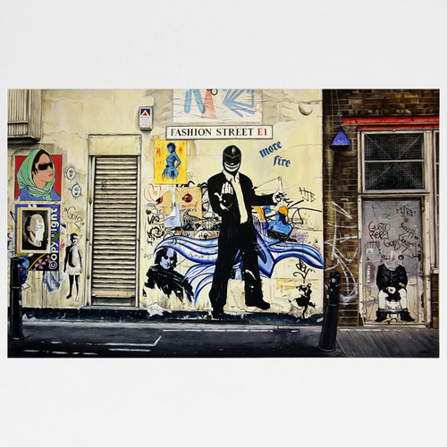 Fashion Street art print by Marc Gooderham at Of Cabbages and Kings