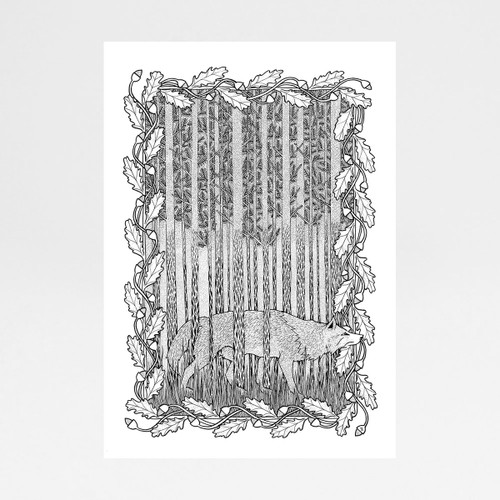 Lupus art print by Tom Berry at Of Cabbages and Kings