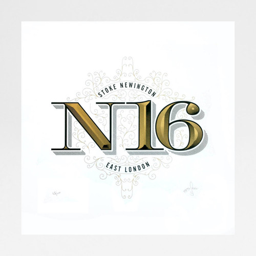 N16 screen print by Fiftyseven Design at Of Cabbages and Kings