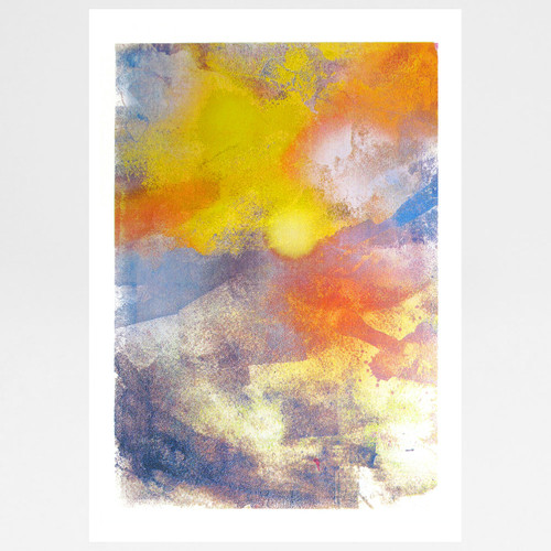 Sunrise screen print by Gavin Dobson available at Of Cabbages and Kings.