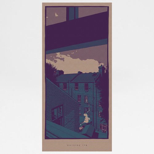 Outside 17B art print by Liam Devereux at Of Cabbages and Kings