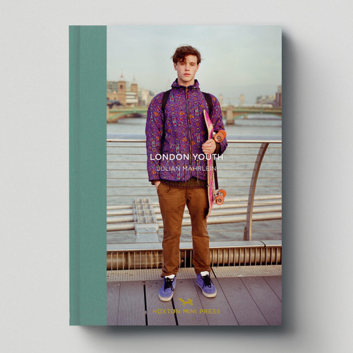 London Youth book cover by Julian Marhlein published by Hoxton Mini Press at Of Cabbages and Kings