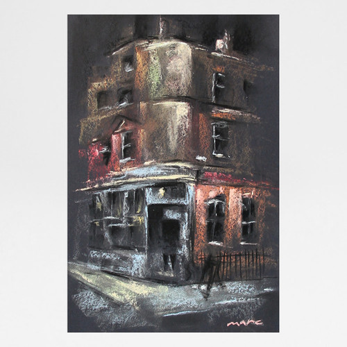 The Lady Ottoline, Bloomsbury art print by Marc Gooderham, available at Of Cabbages and Kings.