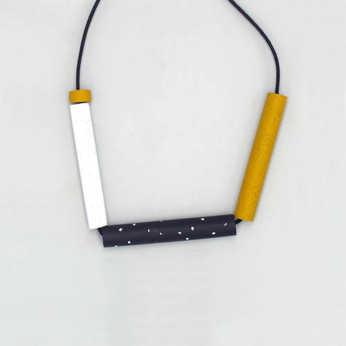 Mr Mustard Necklace by Soda Bay at Of Cabbages and Kings