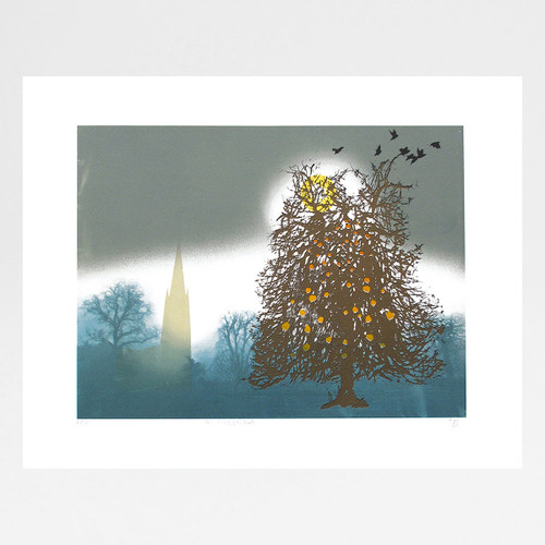 The Witch's Hat screen print by Martin Mossop at Of Cabbages and Kings