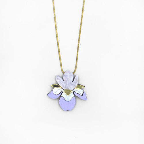 Iris Necklace by Wolf and Moon at Of Cabbages and Kings