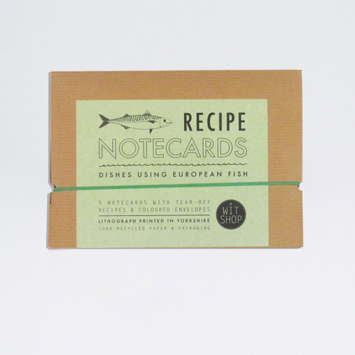 Fish recipe notecards by WitShop at Of Cabbages and Kings