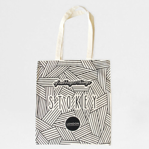 Stokey Tote - Stoke Newington Canvas Tote Bag at Of Cabbages and Kings