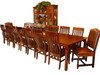 """Customized tables up to 17 feet. Starting table dimensions 48"""" x 60"""" with up to 6- 24"""" leaves."""