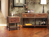 Rustic end table and sofa back table
