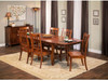 Shenandoah Trestle with Campbell side chair- Express and Quick Ship availability