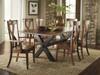 Xander Live edge table and Xander Chairs