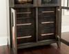 Detail of drawers on Elara Display Cabinet