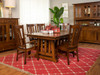 Castlebrook Dining set- mission style with inlay