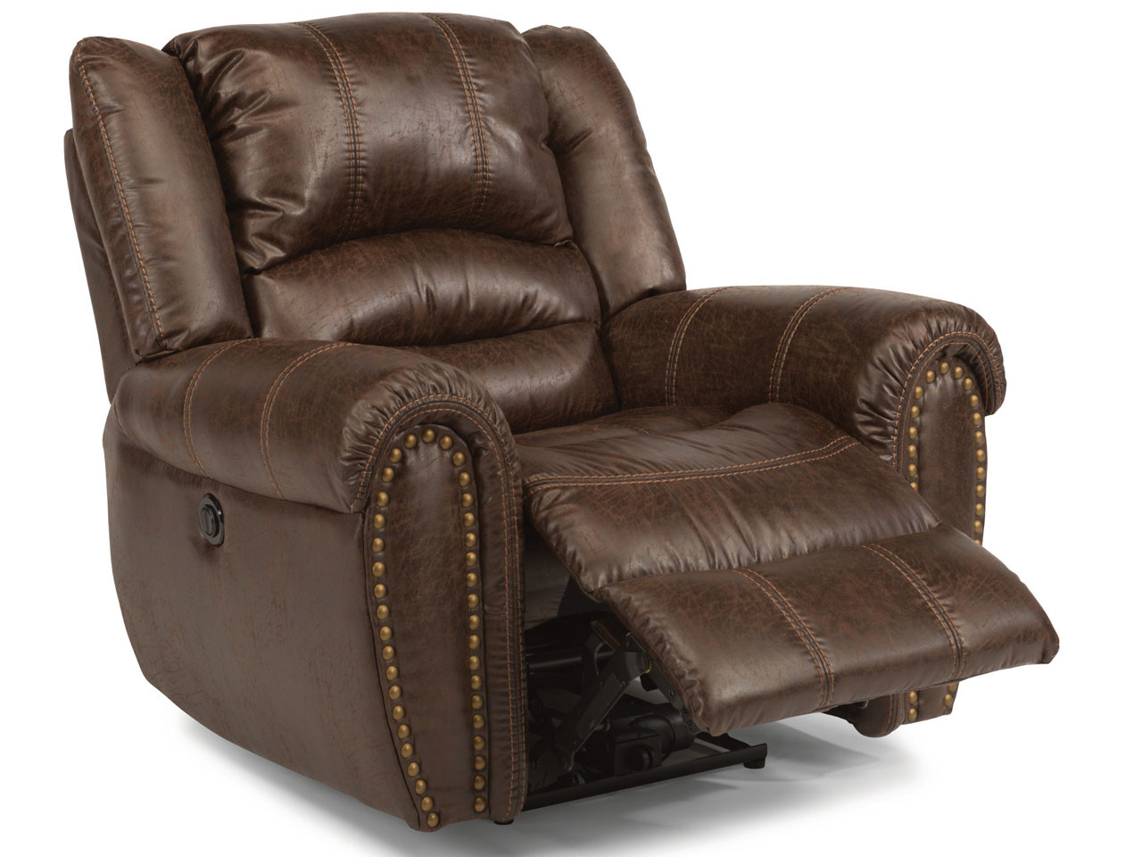Downtown Recliner By Flexsteel Fabric Or Leather