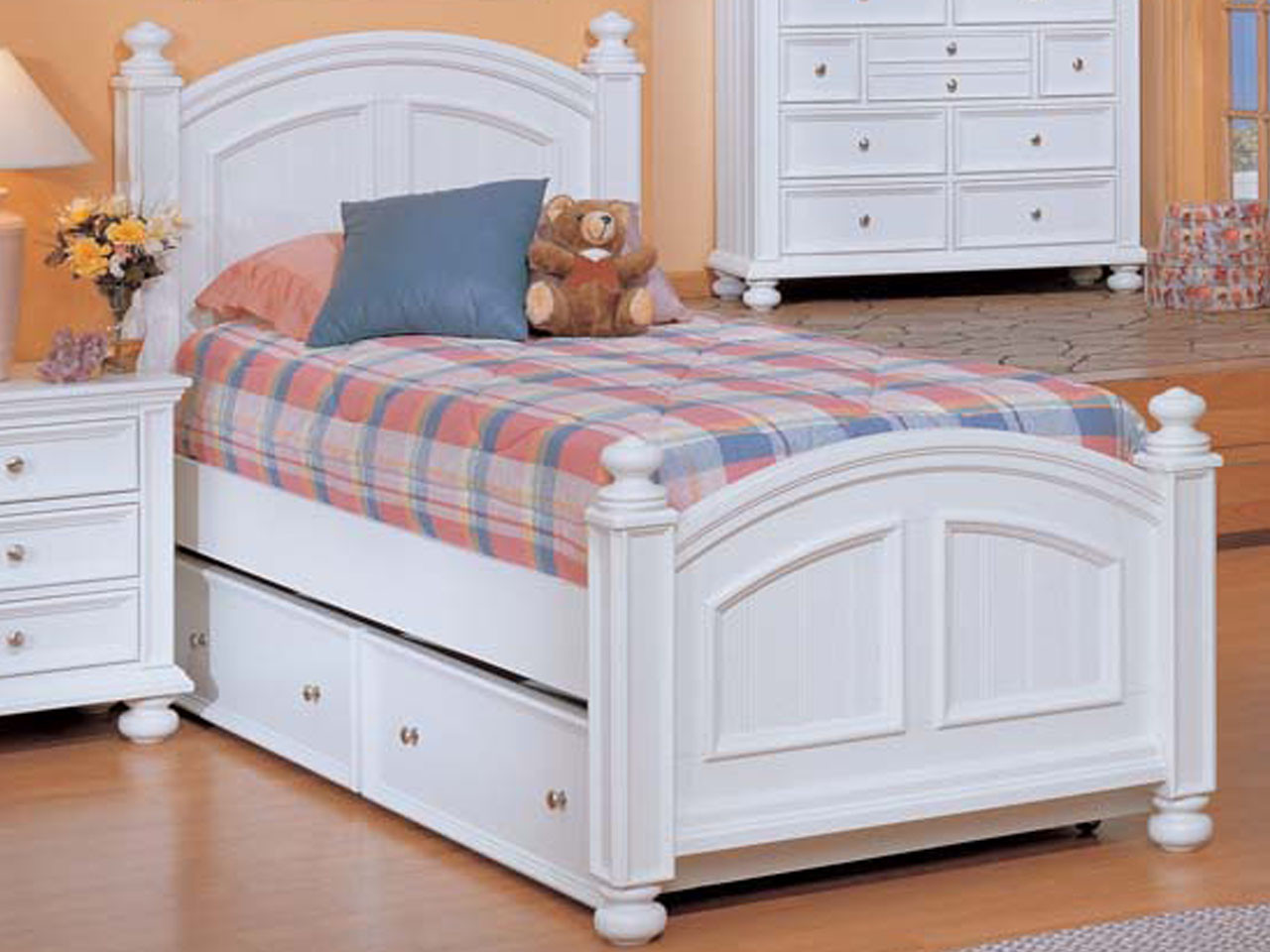 Cape Cod Storage Trundle Bed Twin Size