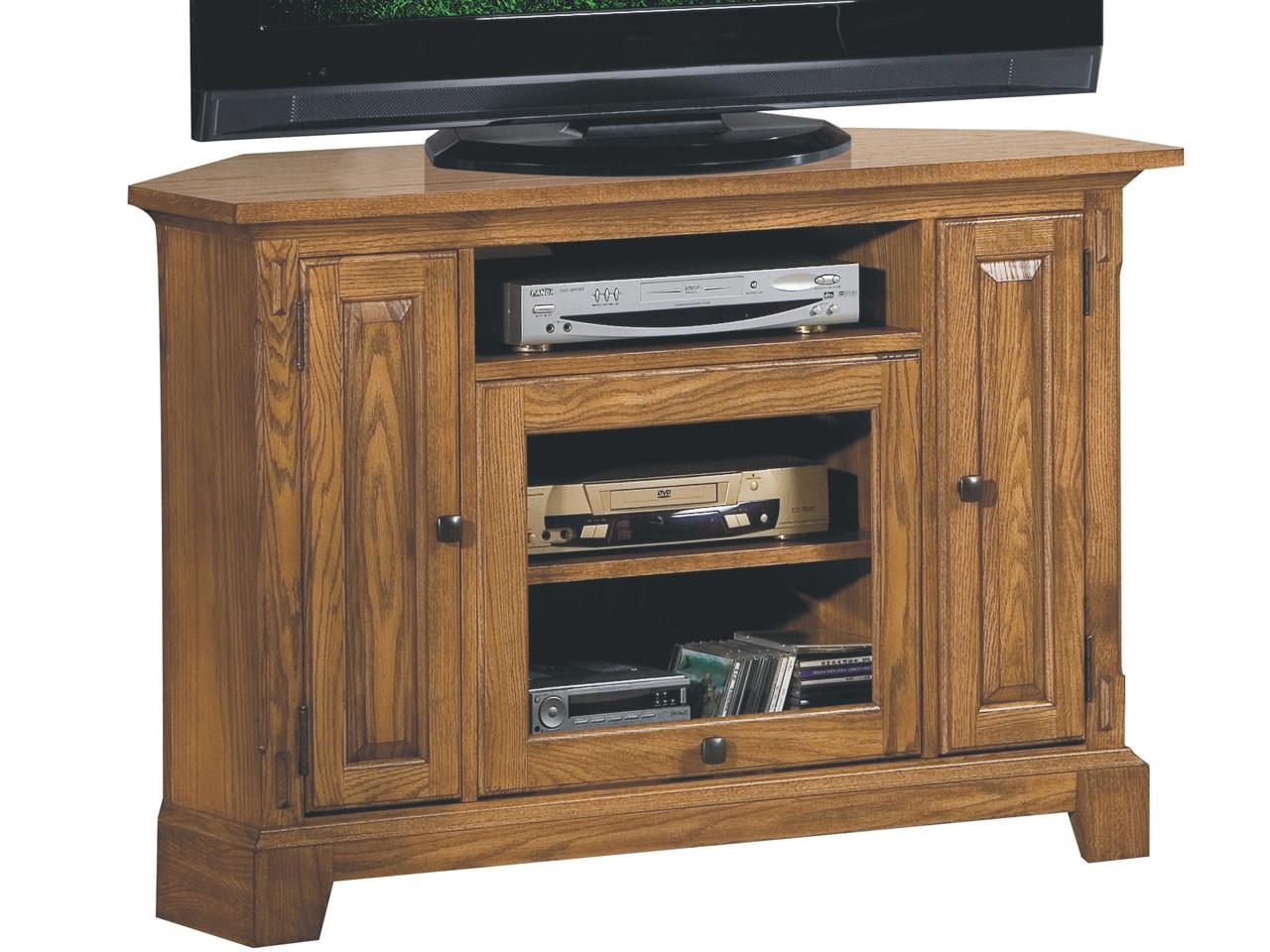 Zahara Light Oak 47 Corner Tv Stand Vintage Oak