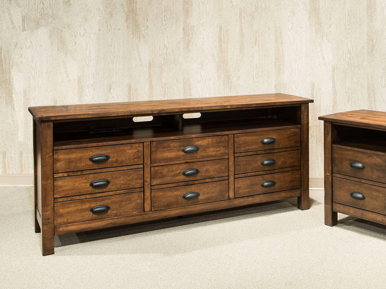 District 65 Tv Stand Media Chest