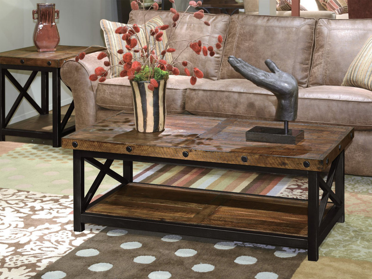 Bon Carpenter Occasional Table Collection By Flexsteel Available At Vintage Oak  Furniture In Sandy