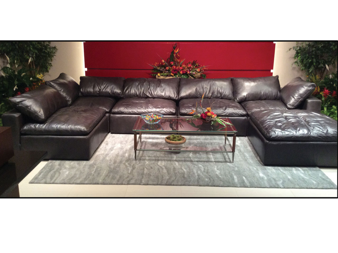 1440 Modular Leather Sectional