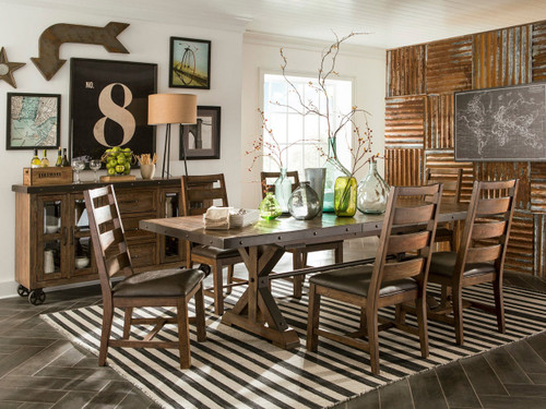 Taos Dining set- $1299 for table and 4-chairs  Anniversary   Sale