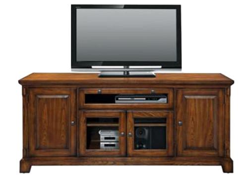 "Zahara 72"" Medium Oak TV Stand (Available in light oak)"