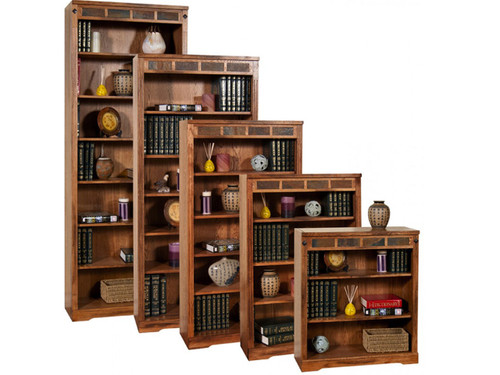 """Sedona Bookcases  Available in 36"""", 48"""", 60"""" 72"""" and 84"""" hieghts"""