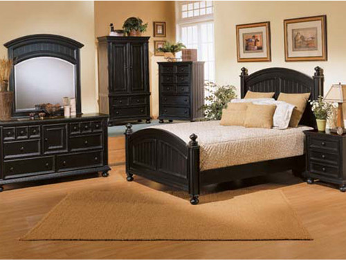 Cape Cod Bed Ebony