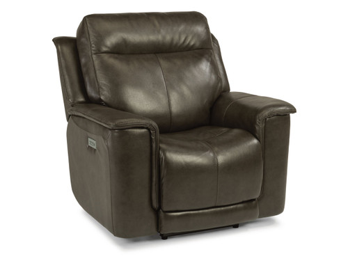 Miller Recliner With Power Headrest & Power Lumbar Two leather options