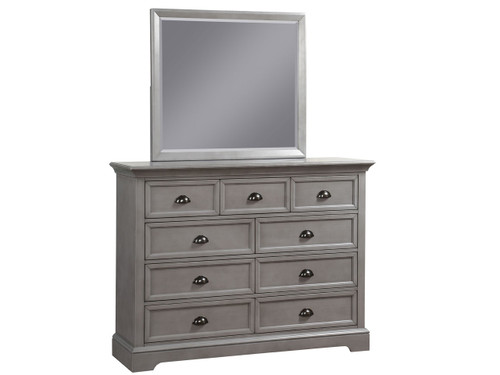 Tamarack Gray Dresser and Mirror