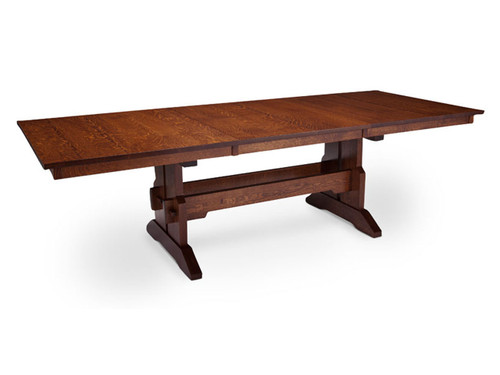 Franklin Table Shown in Quarter-sawn Oak