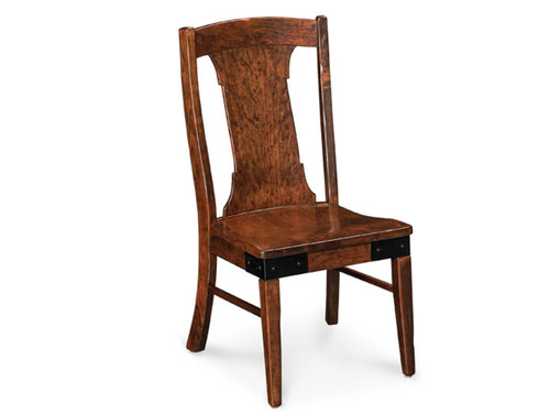 Montauk Chair with wood seat (also available with fabric or leather cushioned seat)
