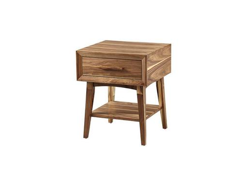 Venice Mid-Century Modern 1 drawer Night stand