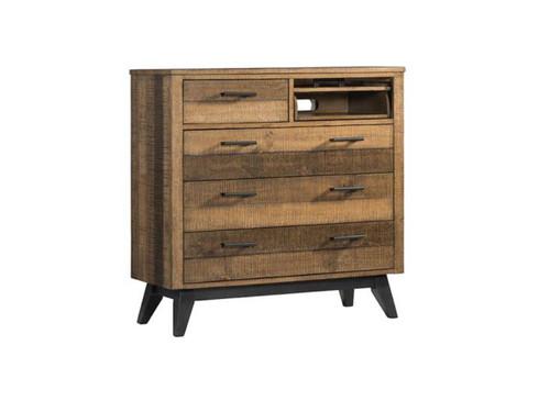 Urban Designs Cape Cod 3 Drawer Storage Chest Night Stand Antique