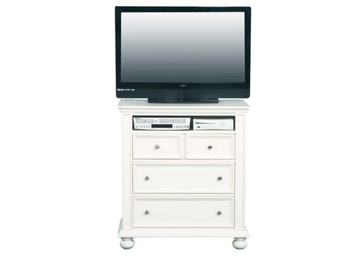 Also available in Eggshell white (pictured) or Ebony finish