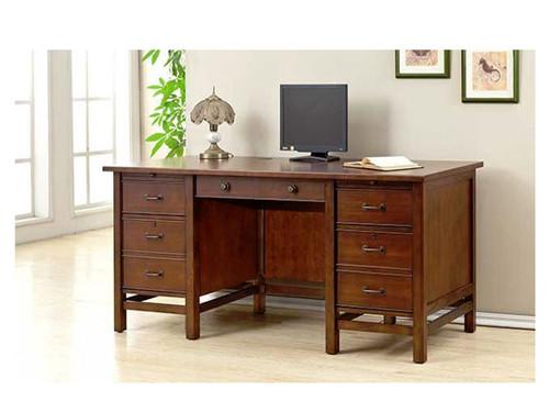 """Willow Creek Computer desk- Cherry wood 66.5"""""""