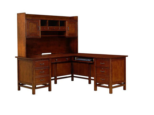 Willow Creek L-shaped computer desk