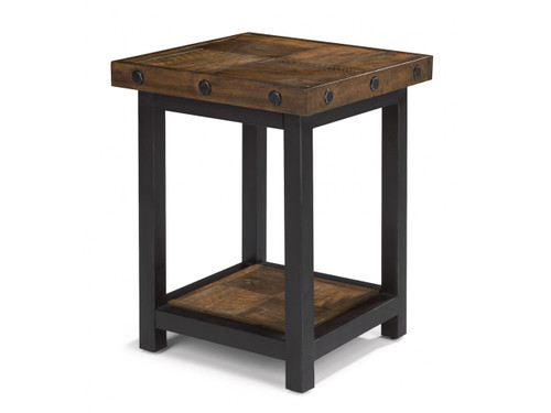 Carpenter Chairside end table