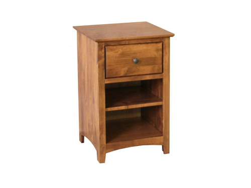 Shaker 1 drawer Night Stand